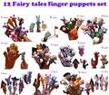 12 de Hadas Finger Puppets Set Bebés y Niños Bebé Juguetes Títeres para Niños Una Historia Diferente Al Por Mayor de Juguetes
