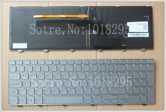 New for Dell Inspiron 15-7000 7537 series Spanish Latin Laptop Keyboard backlit LA/SP