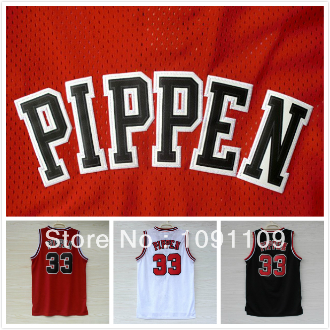... Chicago 33 Scottie Pippen Jersey 4f9eb0190
