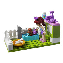 BELA 10159 assemblage building blocks 185pcs Girl friends series Heart lake Mia dog show bricks gift