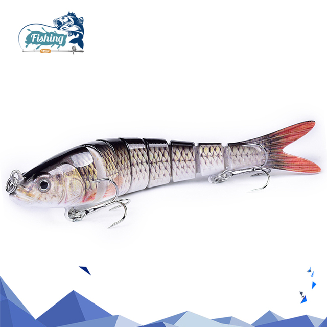 Multi Jointed Hard Artificial Fishing Lure
