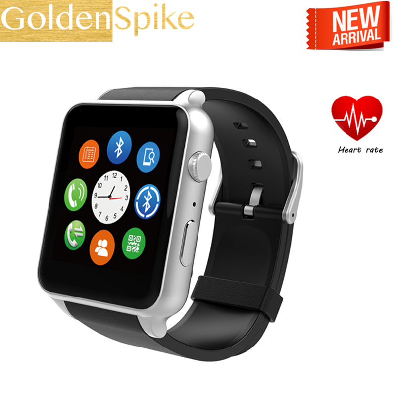Bluetooth Smartwatch Support Sim-Card Heart-Rate-Monitor GT88 Apple Android Os Phone-Wrist