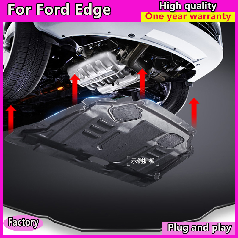 Car Styling For Ford Edge Plastic Engine Guard   For New Edge Engine Skid Plate Fender Alloy Steel Engine In Interior Mouldings From