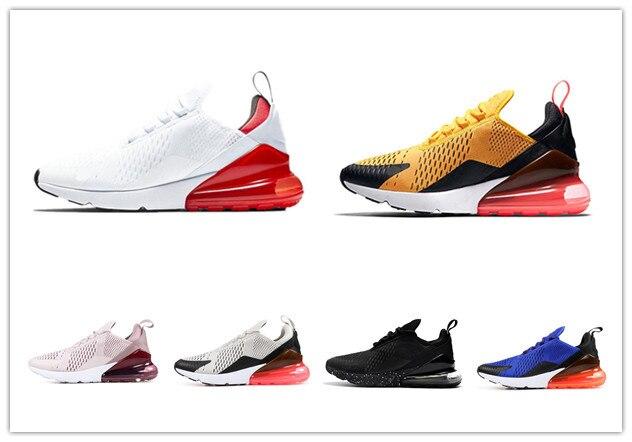 2019 270 chaussures de course tigre noir Orange CACTUS baskets baskets homme sport hommes athlétique vraie chaussure de sport Olive taille 7-11