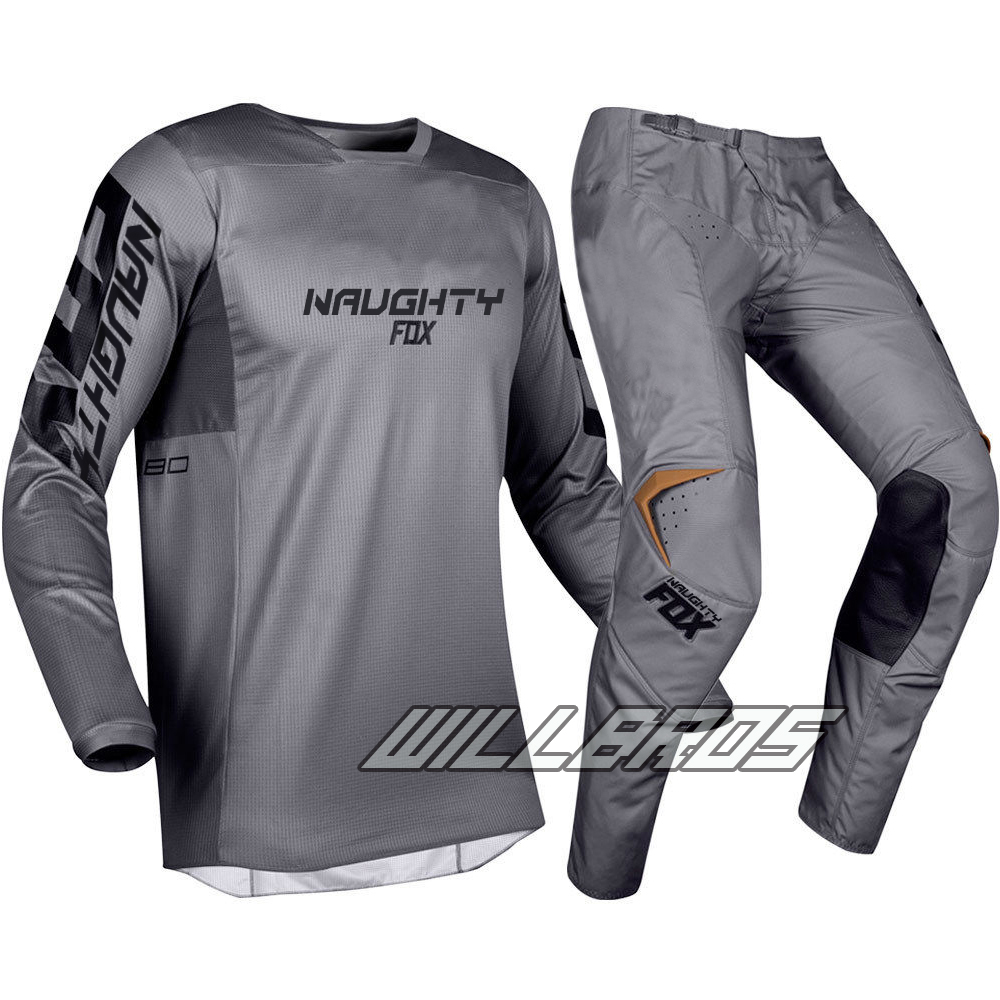 MX Stone Grey 180 Prizm Gear Set Motocross Motorcycle Dirt bike Off-Road Racing Jersey Pants ComboMX Stone Grey 180 Prizm Gear Set Motocross Motorcycle Dirt bike Off-Road Racing Jersey Pants Combo