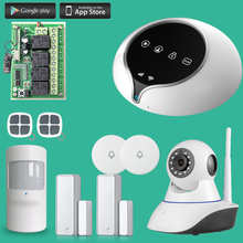 Etiger WIFI GSM Alarm System Wireless PIR Motion Sensor CCTV IP Camera Monitoring Wireless Relay Output Smart Home