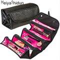 MeiyaShidun Viajan Bolsas de Cosméticos Organizador de Maquillaje Necessaries Wash Bag Women Make Up Case bolsa De Aseo Bolsa De Almacenamiento Kit Colgante