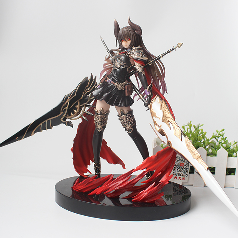 10 ''Jeu Filles Kotobukiya Rage Of Bahamut Dark Dragon Rider Forte Le Dévoué pvc Figure Jouets