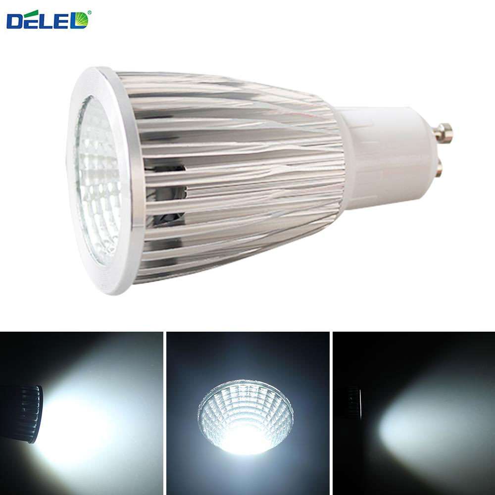 Cob Led Verlichting Us 3 66 Deled Cob Gu10 E27 Mr16 Dimbare Led Led Verlichting 5 W 7 W Cool Wit Sport Lamp Hoge Macht Bulb Lampen Dc12v Ac 110 V 220 V 240 V In Deled