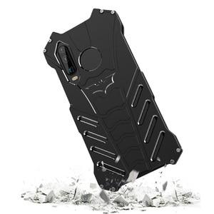 Image 4 - Dla Huawei P30 Pro przypadku R JUST luksusowe Aluminium metalowa obudowa dla Huawei P30 Pro Huawei P30 lite telefon pokrywa Coque