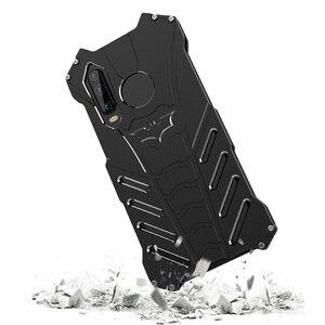 Image 4 - Huawei社P30プロケースR JUST高級アルミhuawei社のP30プロhuawei社P30 lite電話カバーcoque