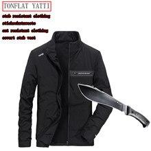 Nova auto-defesa segurança anti-corte anti-hack anti-sta jaqueta militar stealth defensa polícia táticas pessoais roupas 3 cor