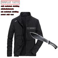 New Self Defense Security Anti cut Anti Hack Anti Sta Jacket Military Stealth Defensa Police Personal Tactics Clothing 3 Color