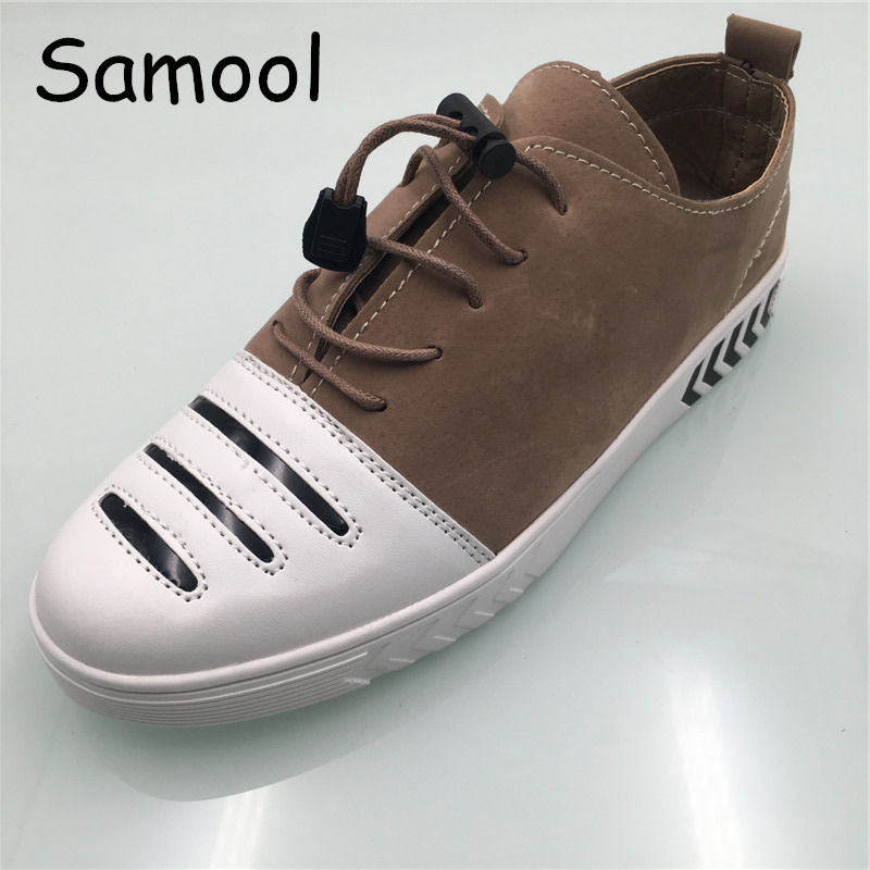Samool Suede Leather shoes Men Sneakers Casual Shoes for Spring Autumn Male Designer Shoes Casual Breathable Shoes Comfort GX5 spring autumn casual men s shoes fashion breathable white shoes men flat youth trendy sneakers