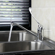 Ванная комната хром латунь кран раковина смеситель 8710 torneira Одной ручкой отверстие кухня смеситель кран горячей и холодной воды Коснитесь