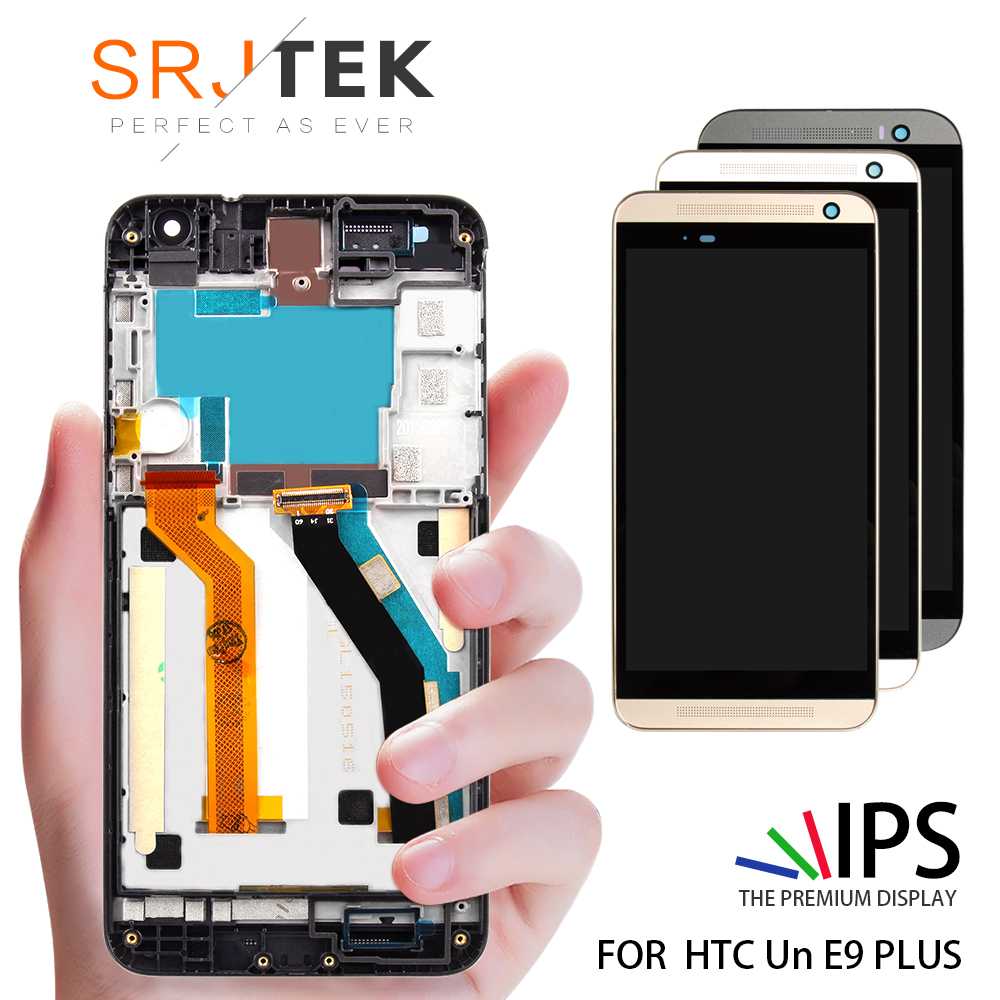 Original 5.5 For HTC One E9 Plus LCD Touch Screen with Frame For HTC One E9 Plus Display Digitizer Assembly Replacement PartsOriginal 5.5 For HTC One E9 Plus LCD Touch Screen with Frame For HTC One E9 Plus Display Digitizer Assembly Replacement Parts