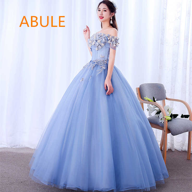 3f9af7e81ef9a Detail Feedback Questions about ABULE Quinceanera Dresses srtapless ...