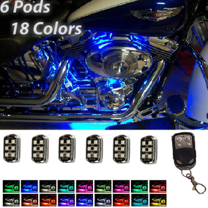 New Colorful 36 LED Motorcycle