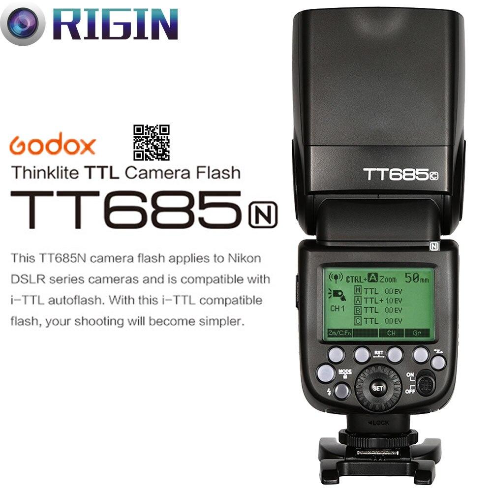 Godox TT685N פלאש מצלמה 2.4GHz שידור אלחוטי + - מצלמה ותצלום