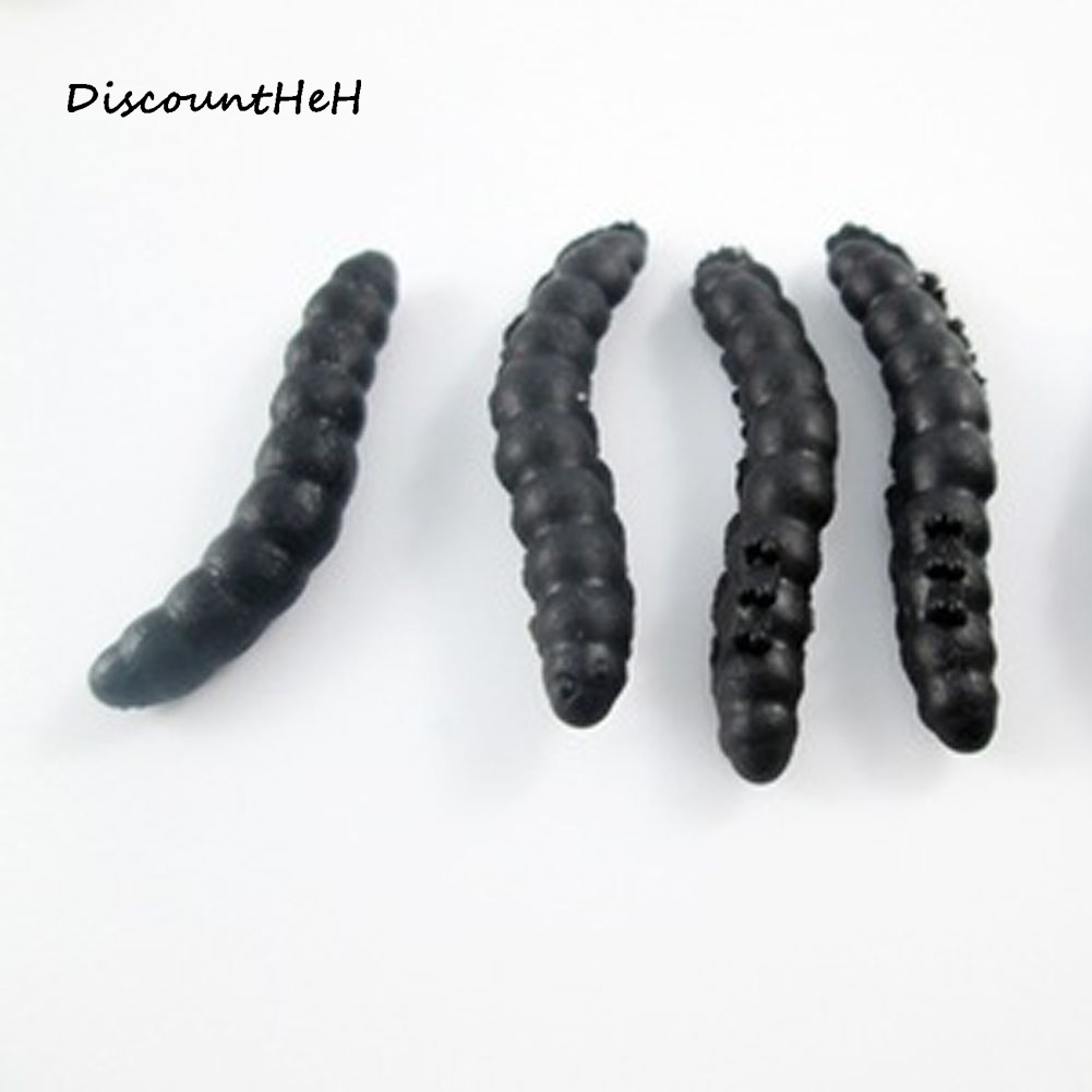 10pcs set Props Practical Joke Insect Bug font b Toy b font Maggot Vegetable Worm Gags