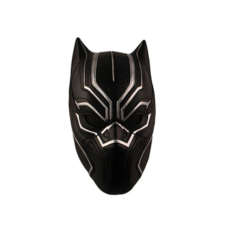 Halloween Black Panther casque masques plein visage film Captain America Civil War T'Challa résine masque Cosplay mascarade fête - 4