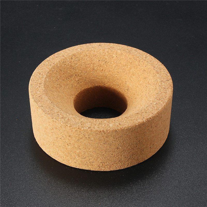 Kicute 5Pcs Laboratory Flask Cork Ring Stand for 50ml-250ml Flask Glass Flask 80*30*30mm School Educational Laboratory Supplies