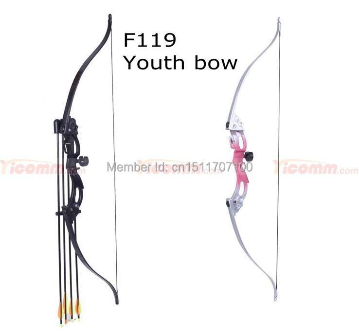 Оптовая М119 блочный лук для молодых новый дизайн стрельба из лука изогнутый лук