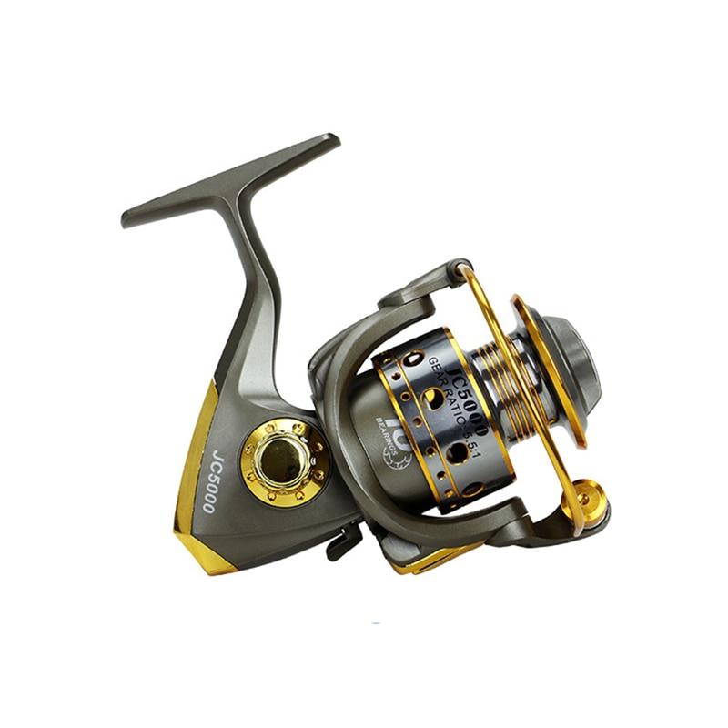 JC1000-7000 Series Folding Spinning Fishing Left/Right Hand Fishing Reel Inshore Fresh Saltwater Spinning Reel 10BB Fishing Reel