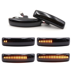 Pair Amber Car LED S...