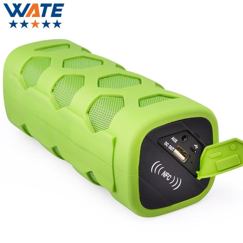 RIF6 Bluetooth CSR 4.0 Speaker, Portable, Wireless, Built-in Microphone and Carabiner NFC waterproof multi-functional Bluetooth