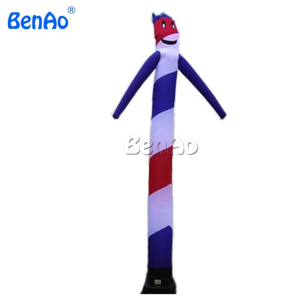 AD066 BENAO 5 m vente Chaude gonflable skytubes, ciel danseurs, mobile gonflable ciel tubes pour la publicité