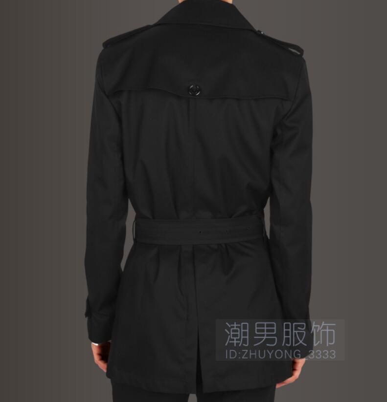 Printemps Hommes 5xl Manteau Chaude noir Mode Nouvelle Trench Taille 2019 Épaulettes De Beige Double Slim breasted Court S qZBtnHIwdI