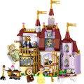 ЛЕЛЕ Принцесса Красавицы Заколдованный Замок Строительные Блоки Для Подруг Дети Модель Игрушки Marvel Совместимость Legoe