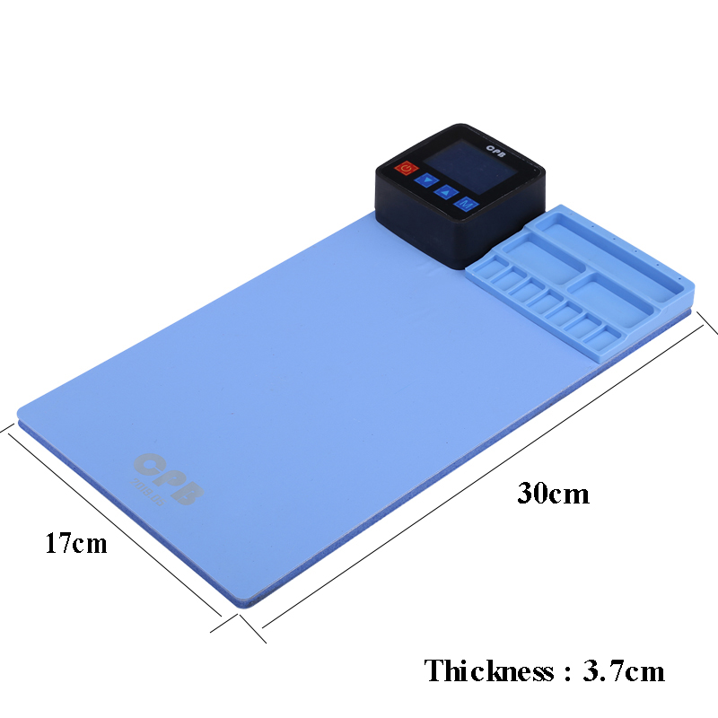 Tools : 110V 220V Mini CPB LCD Screen Separator Disassembly Tool Heating Pad for iPhone iPad Samsung Mobile Phone Repair Tools Outils