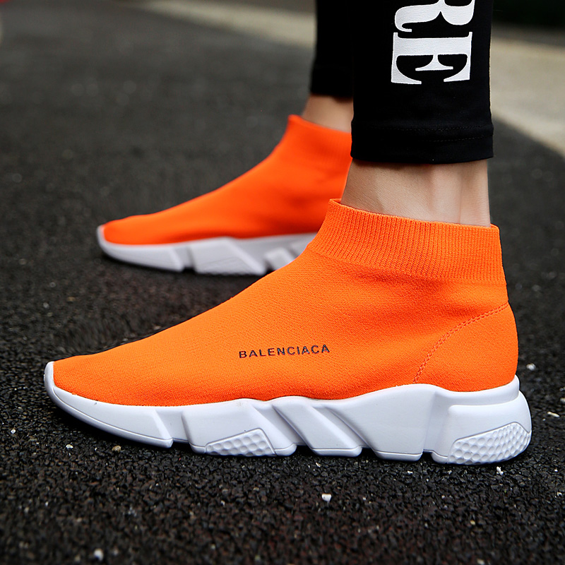 summer Brand sport athletic Running Shoe for Men woman unisex breathable Mesh female sock Sneakers Outdoors Jogging trainers