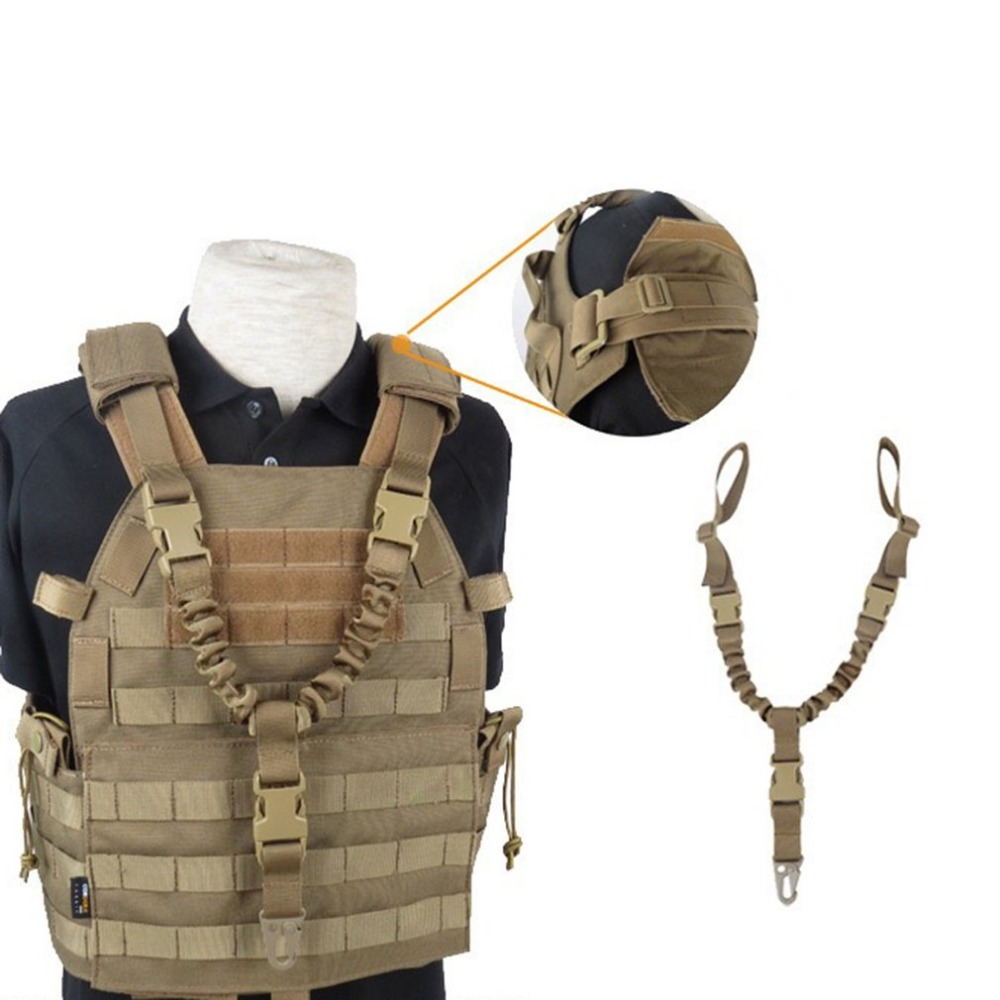 2018 New Outdoor Tactical USA One Single Point Gun Rope Adjustable Rifle Gun Sling/Strap