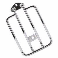Chrome Solo Luggage Carrier Fender Rack For 2004 Up Harley Sportster XL 883 1200