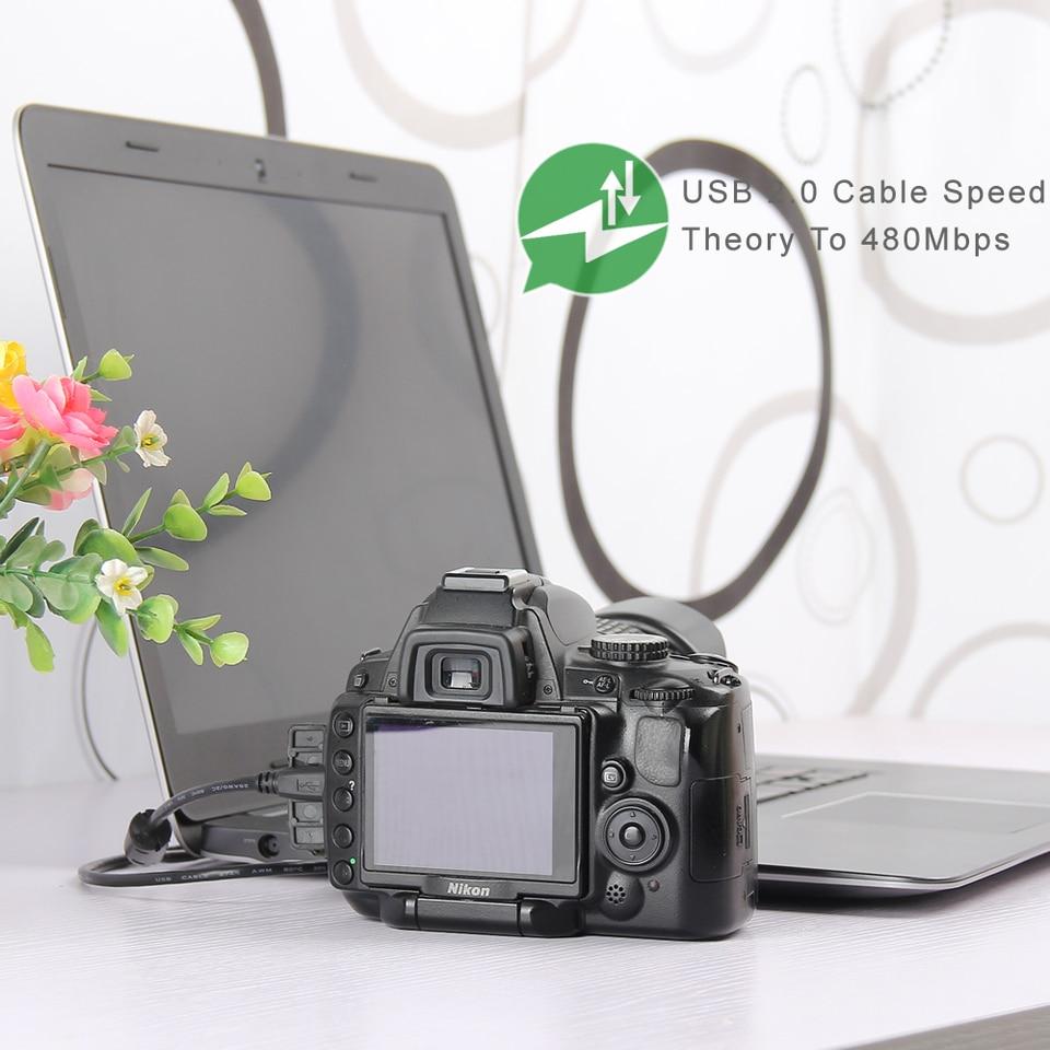 Kesh Direct File Picture Image Transfer USB PC Data Sync Cable Cord Lead For Panasonic Camera Lumix DMC-LZ3 DMC-FX80