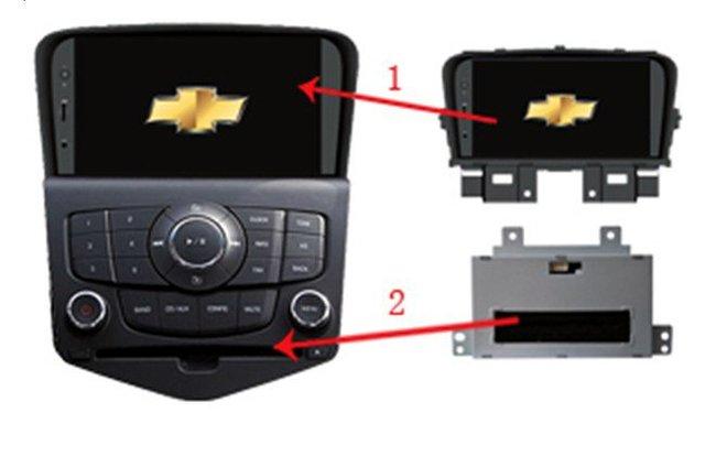 Chevrolet Cruze/LACETTI II  Car Player with DVD/Radio/GPS/Bluetooth/iPod/MP4/MP3