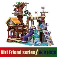 Compatible With Lego Friends BELA 10497 Building Bricks Blocks Adventure Camp Tree House 41122 Emma Mia