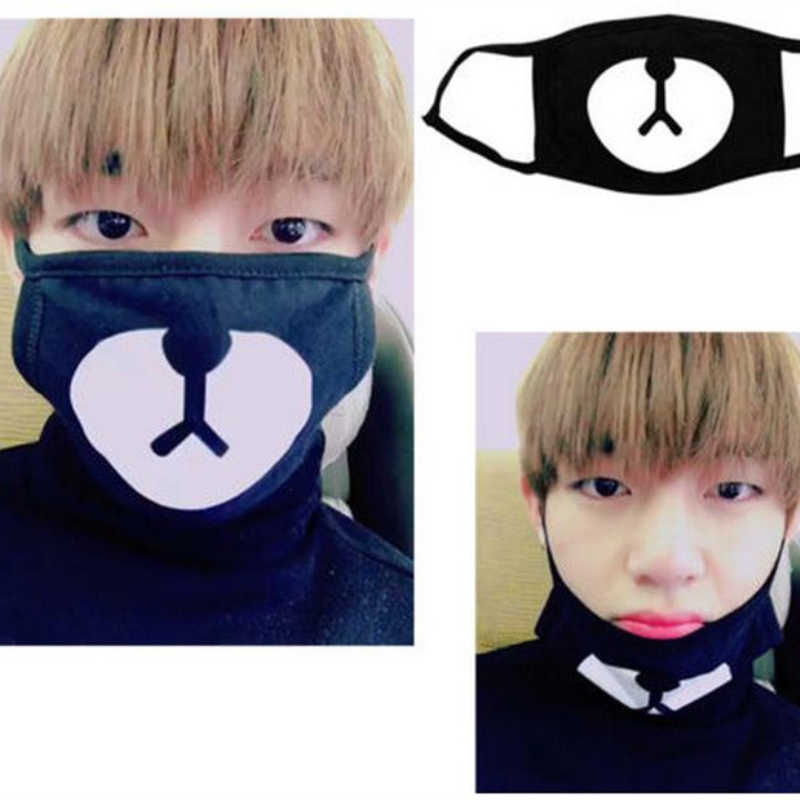 e4e5116c4 Mainlead Kpop BTS V Masks Mouth Unisex Bangtan Boys New Face Muffle  Respirator Cotton