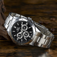 CHENXI 2017 Mens Watches Top Brand Luxury CLOCK MAN Waterproof Quartz Movement Watch Men Stainless Steel