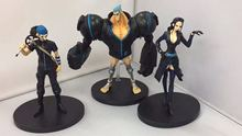 Nico Robin Usopp Franky action figure set 3pcs