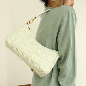 Image 1 - Casual Alligator Handbags Women Crocodile Pattern Messenger Bags Women PU Leather Shoulder Crossbody Bag Female Purse Hot Sale
