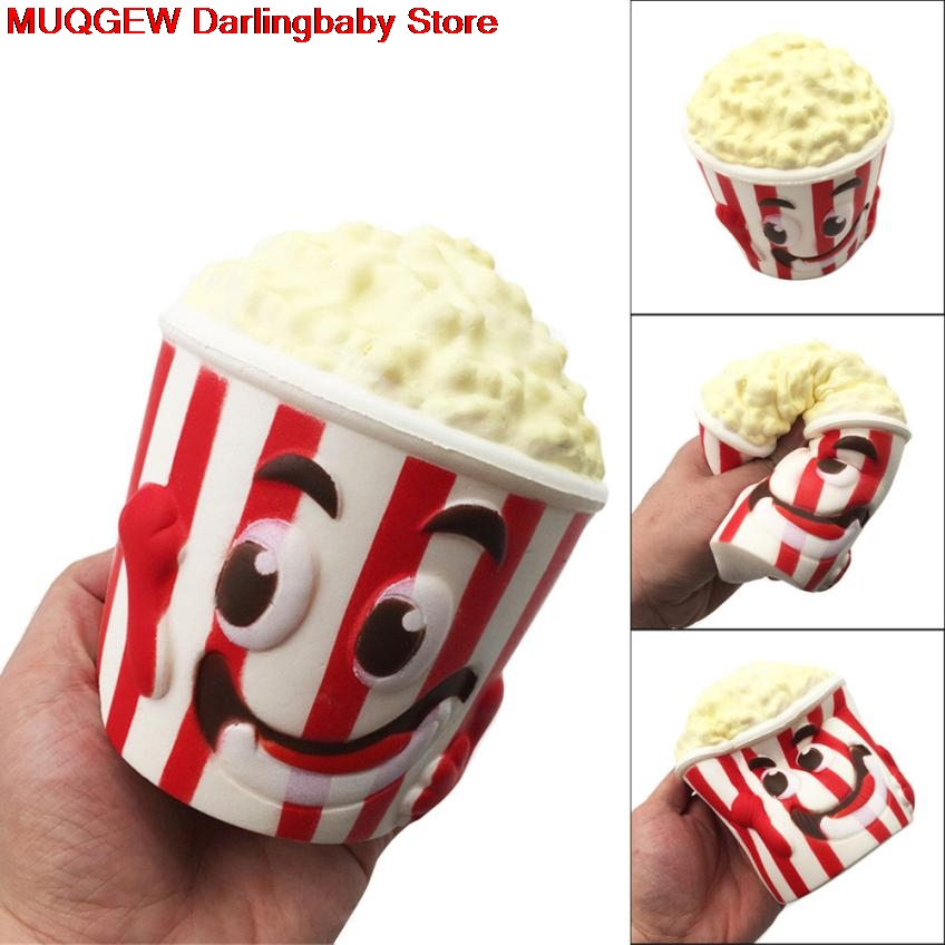 Knowledgeable Big Popcorn Cup Squishy Scented Squeeze Collection Funny Gadgets Anti Stress Novelty Antistress Toy Gift Oyuncak Interesting Toy Delaying Senility Gags & Practical Jokes Novelty & Gag Toys