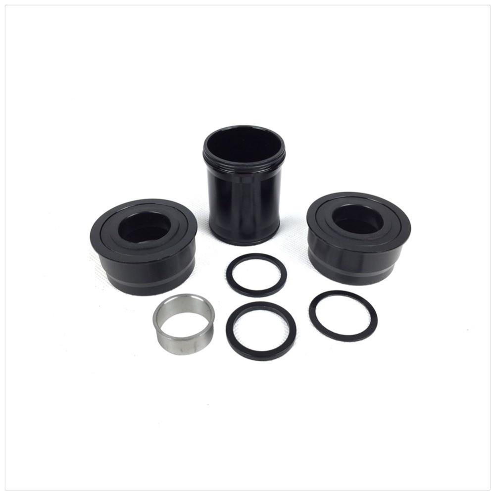 BB386 24mm Press Fit Bottom Brackets For shimano 24mm sram 22mm Cranks 46*86mm