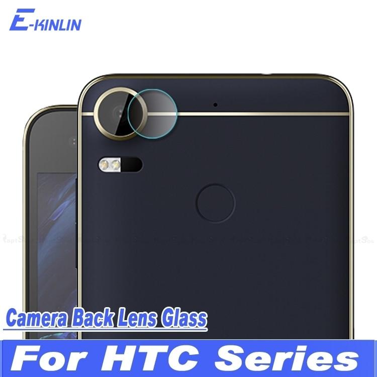 Back Camera Lens Tempered Glass Protector Film For HTC Desire 10 Pro Evo Bolt Lifestyle U11 Life Plus U Ultra Play One X10 X9