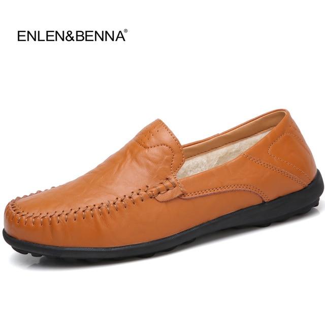 Nueva moda casual, zapatos mocasines de pie, moda conductores, loafer barco auténticos hombres.