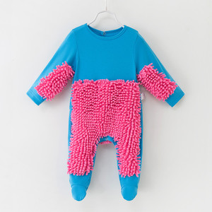 Children's wear Autumn spring baby romper Baby mop Siamese clothes European and American explosions infant clothes clothing(China)