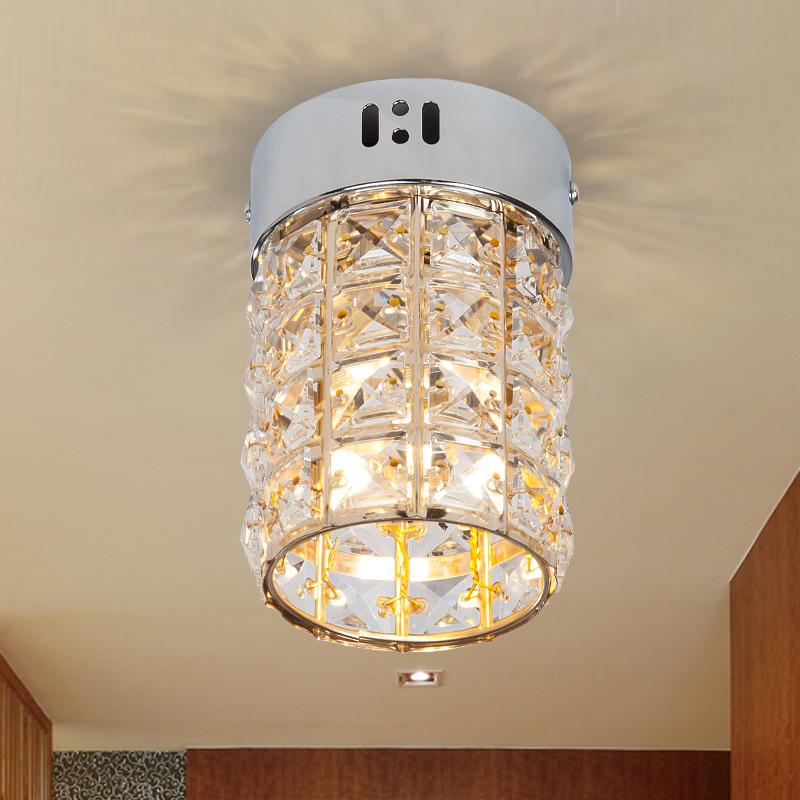 A1 European fashion simple aisle lights single crystal ceiling lamp entrance corridor lights balcony lamp ceiling lights SD152 the personalized fashion simple cryst led corridor entrance hall aisle lights ceiling lamp room balcony lamp lights color sd128